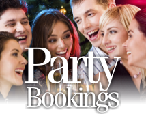 Party Bookings at The Red Lion